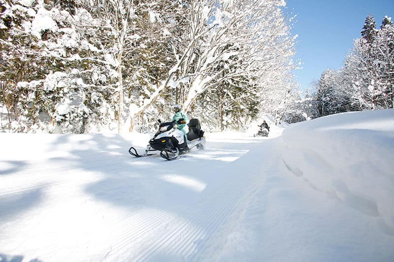 myoko snowmobile land