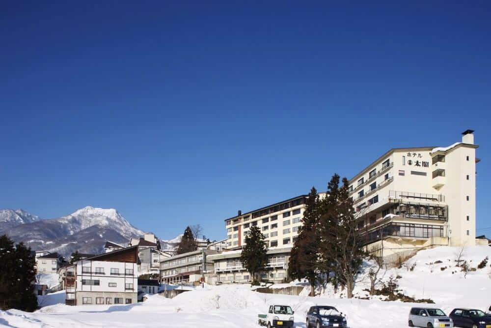 Hotel Taiko in winter